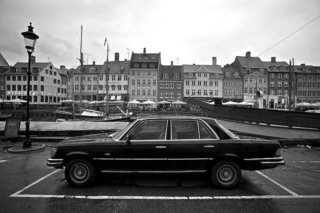 Fotky – Kodaň ČB