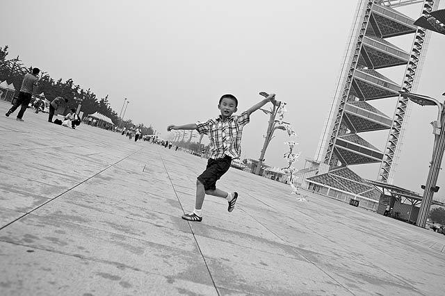 Fotky – Čína B&W