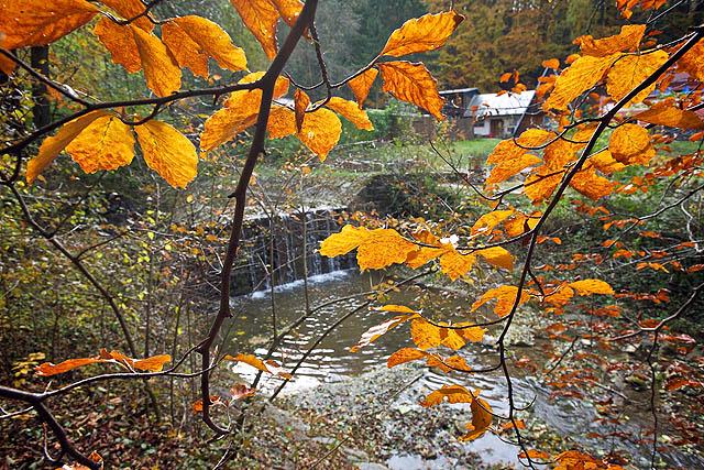 Barevn� podzim vrcholil