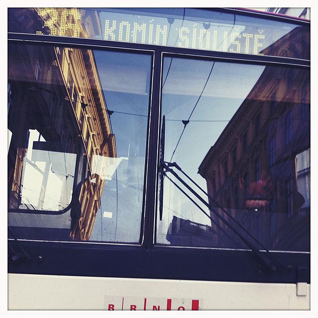 Šlofík řidiče trolejbusu