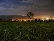 Zlín v noci